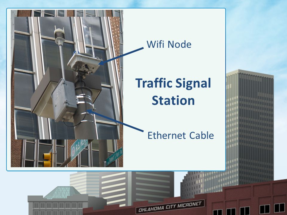 Traffic Signal Station Wifi Node Ethernet Cable
