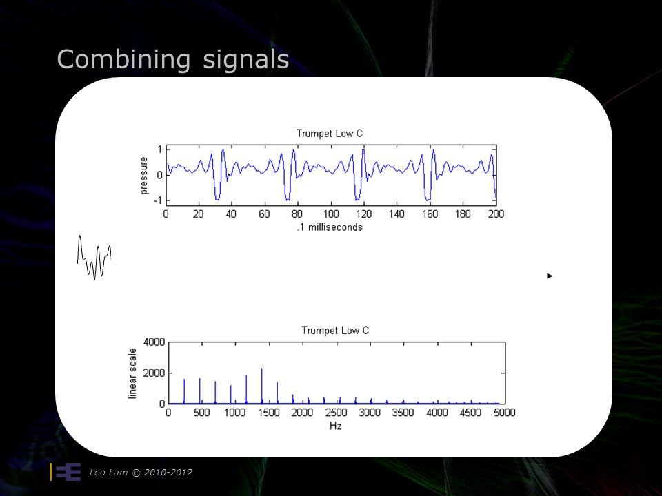 Combining signals Leo Lam © 2010-2012