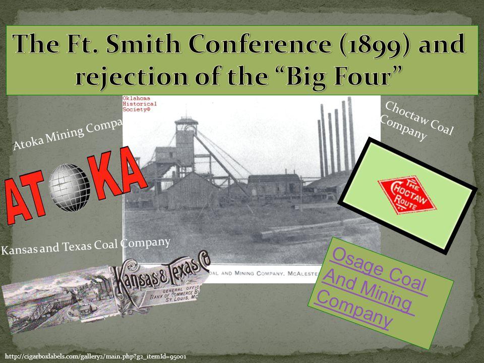 Kansas and Texas Coal Company Atoka Mining Company Osage Coal And Mining Company Choctaw Coal Company http://cigarboxlabels.com/gallery2/main.php?g2_i