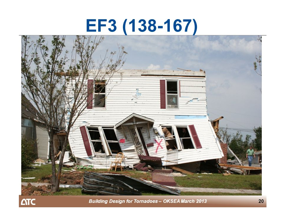 Building Design for Tornadoes – OKSEA March 201320 EF3 (138-167)