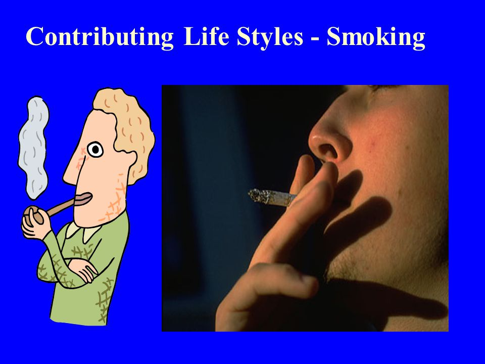 Contributing Life Styles - Smoking