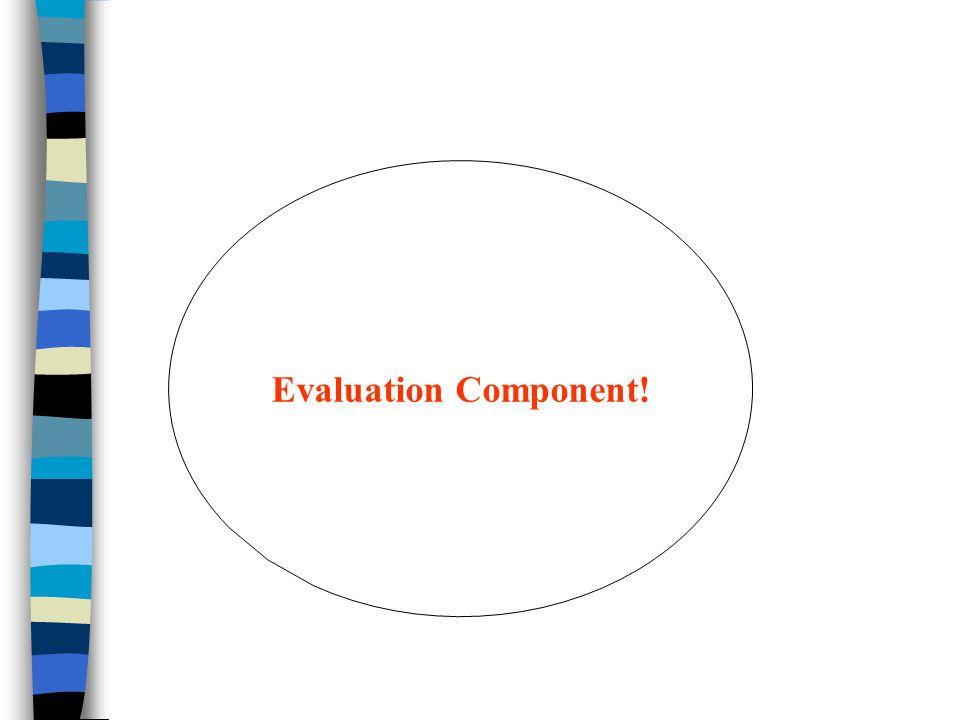 Evaluation Component!
