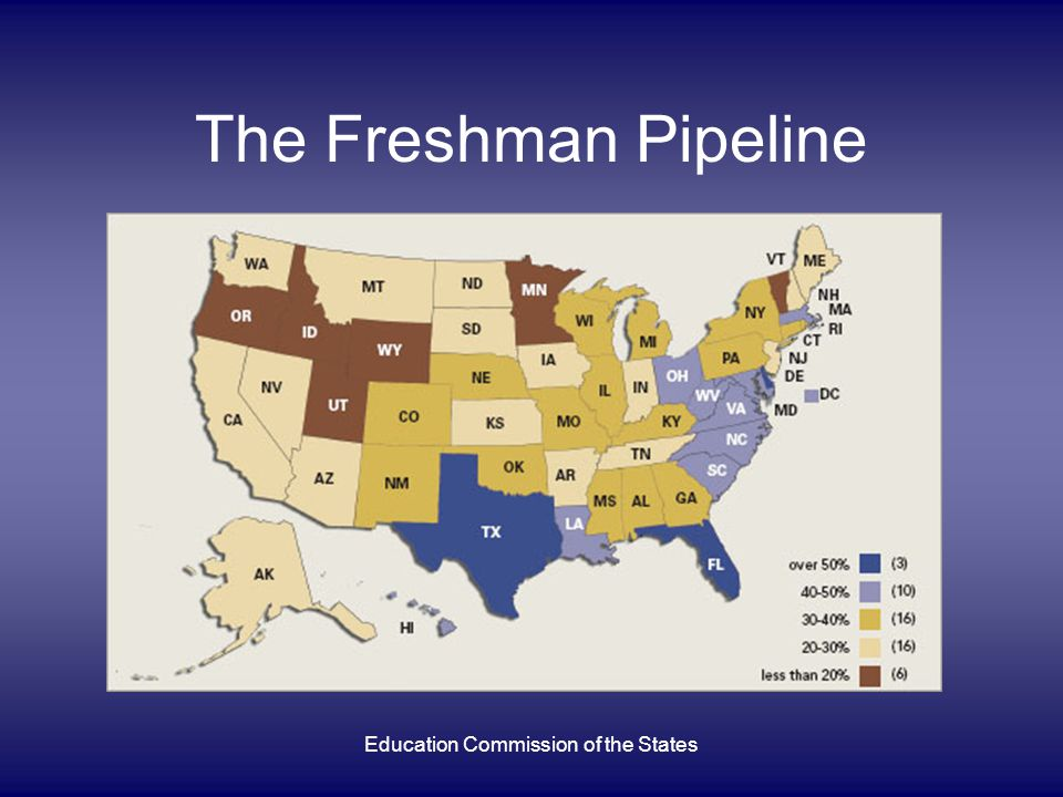 Education Commission of the States The Freshman Pipeline
