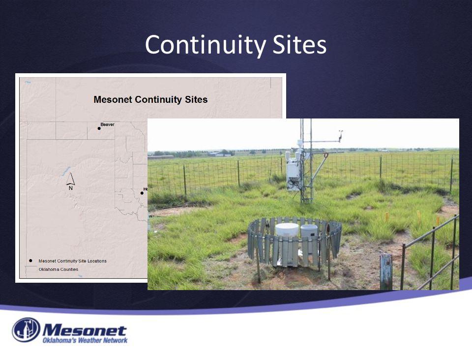 Continuity Sites