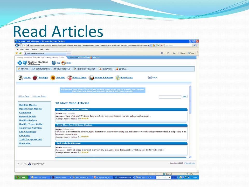 Read Articles