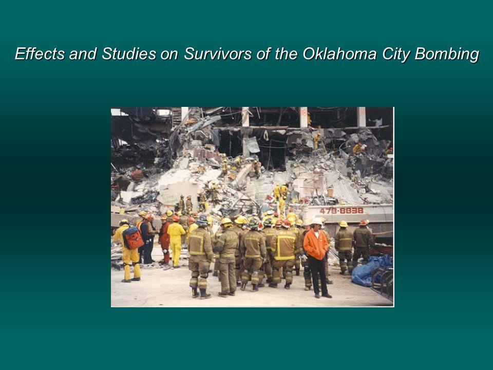 Effects of the Oklahoma City Bombing Jennifer Baney