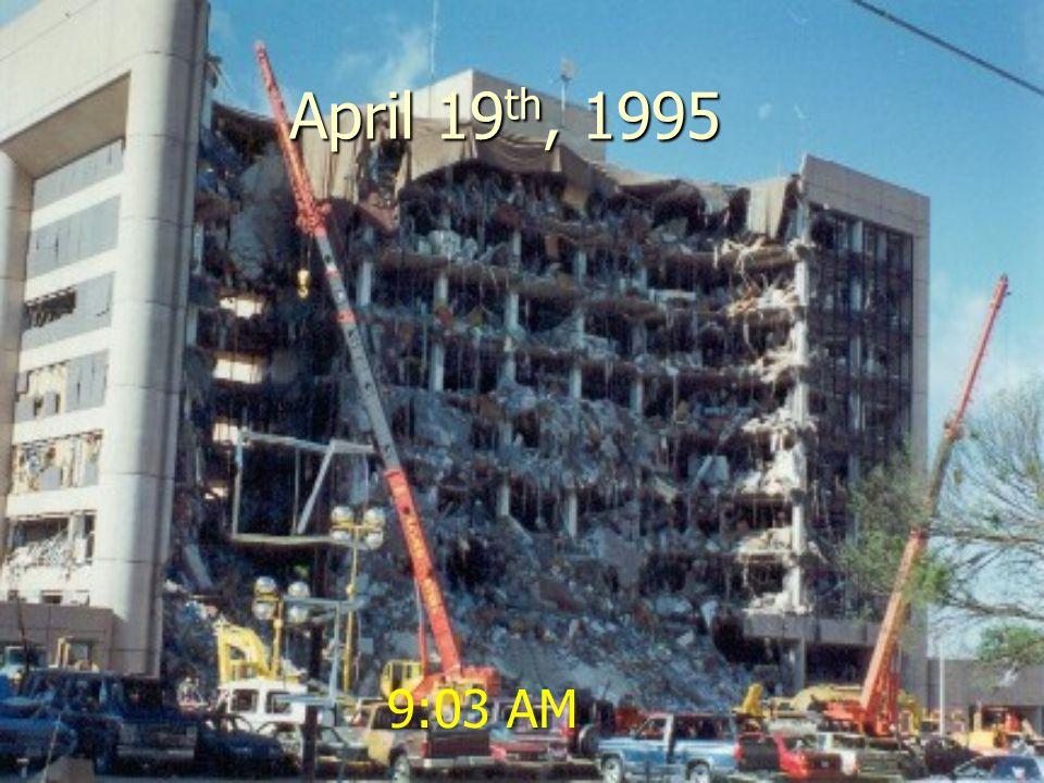April 19 th, 1995 9:03 AM