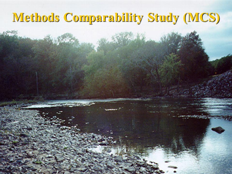 Methods Comparability Study (MCS)