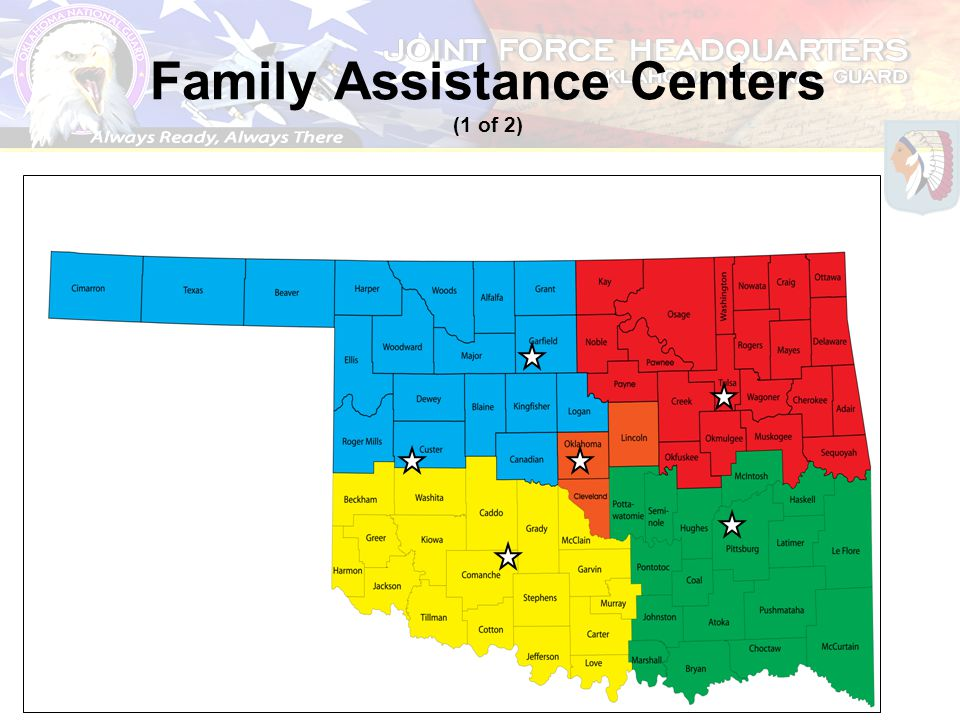 Family Assistance Centers (1 of 2)