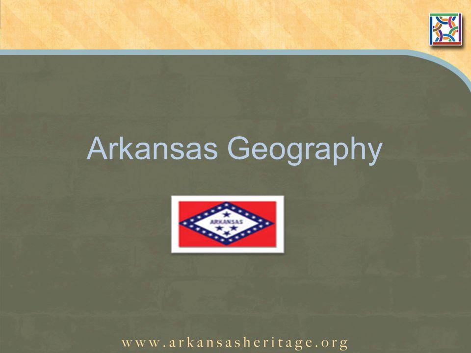 Arkansas Geography