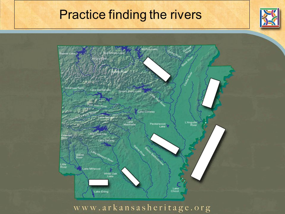 Practice finding the rivers