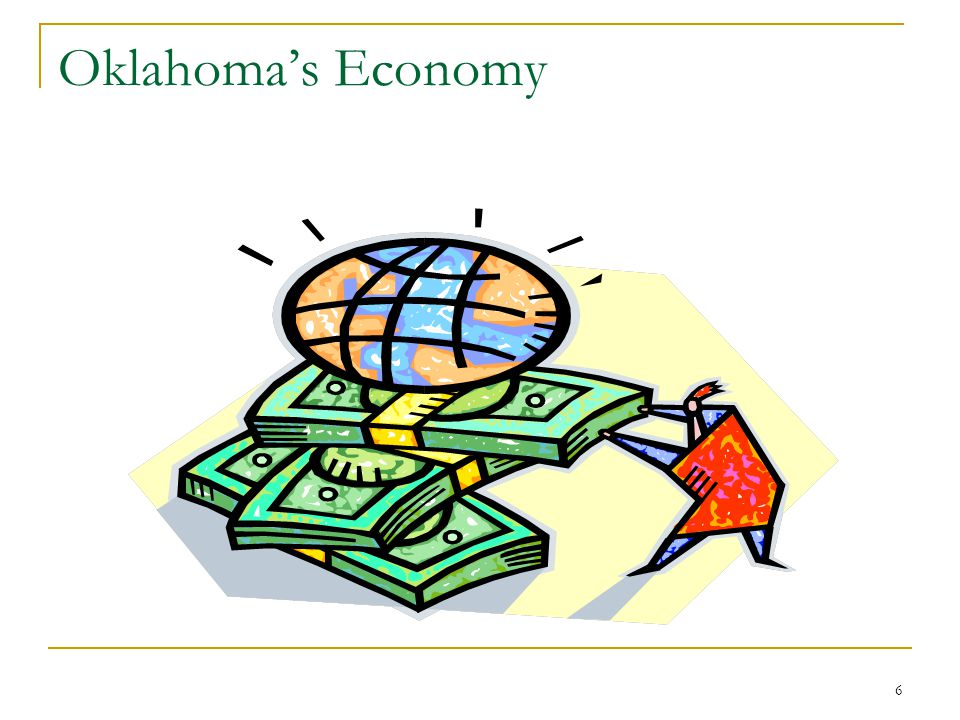 7 Oklahoma: Comparison of National GDP and State GDP (formerly GSP)