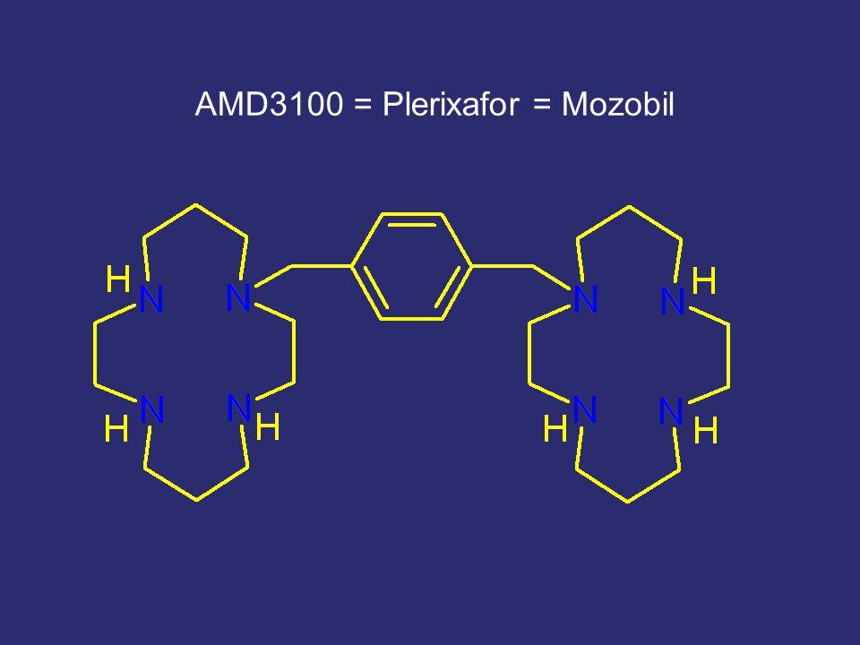 AMD3100 = Plerixafor = Mozobil