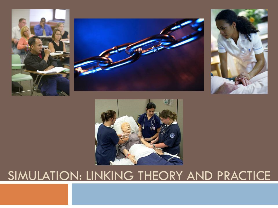 SIMULATION: LINKING THEORY AND PRACTICE