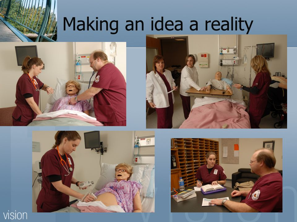 Making an idea a reality