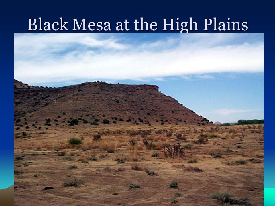 Black Mesa at the High Plains