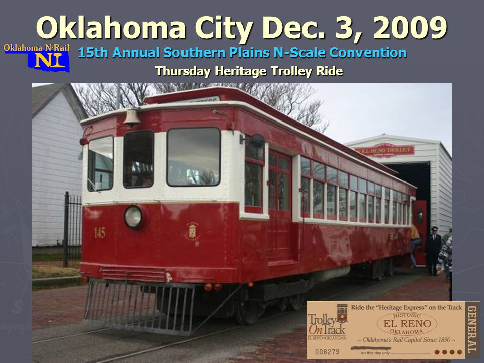 Thursday Heritage Trolley Ride Oklahoma City Dec.