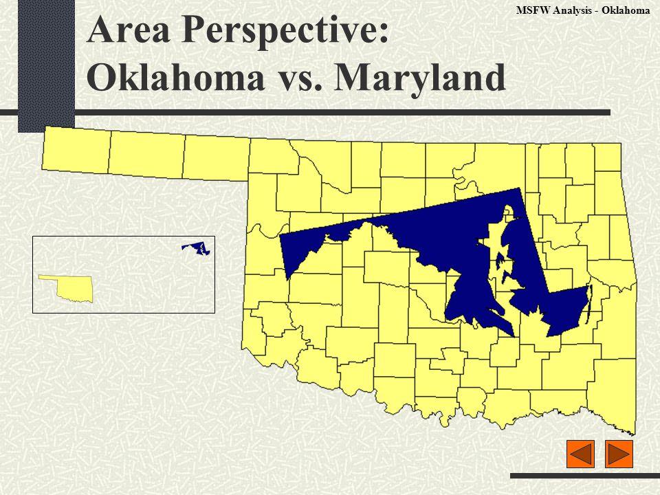 Area Perspective: Oklahoma vs. Maryland MSFW Analysis - Oklahoma