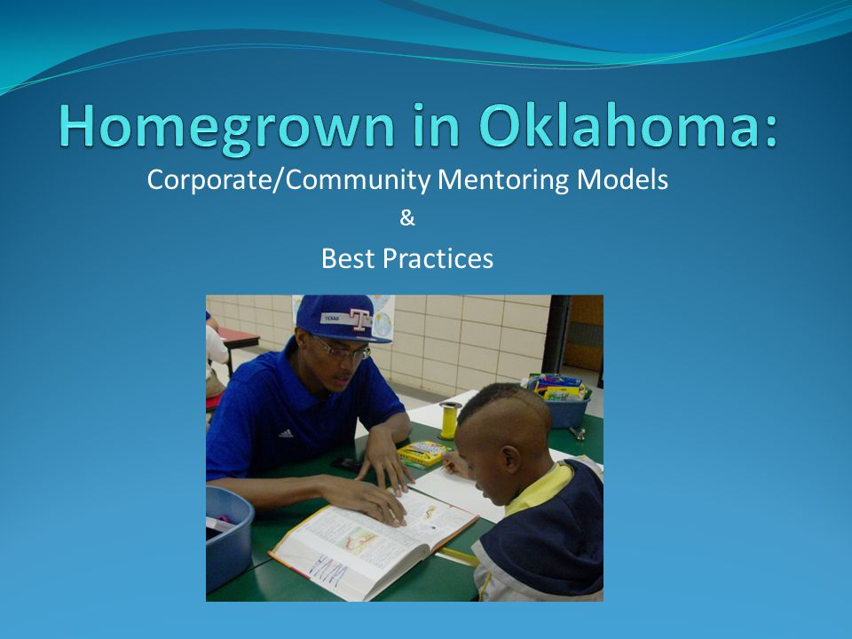 Corporate/Community Mentoring Models & Best Practices