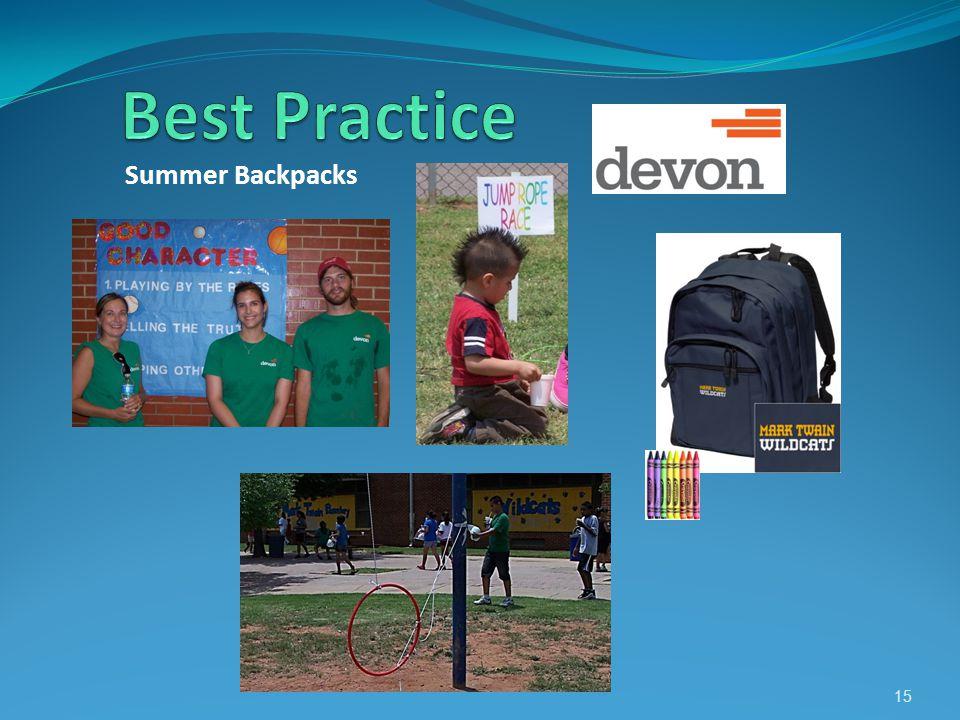 Summer Backpacks 15
