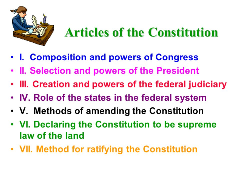 The Constitution: Focus on Application to Business Chapter 4