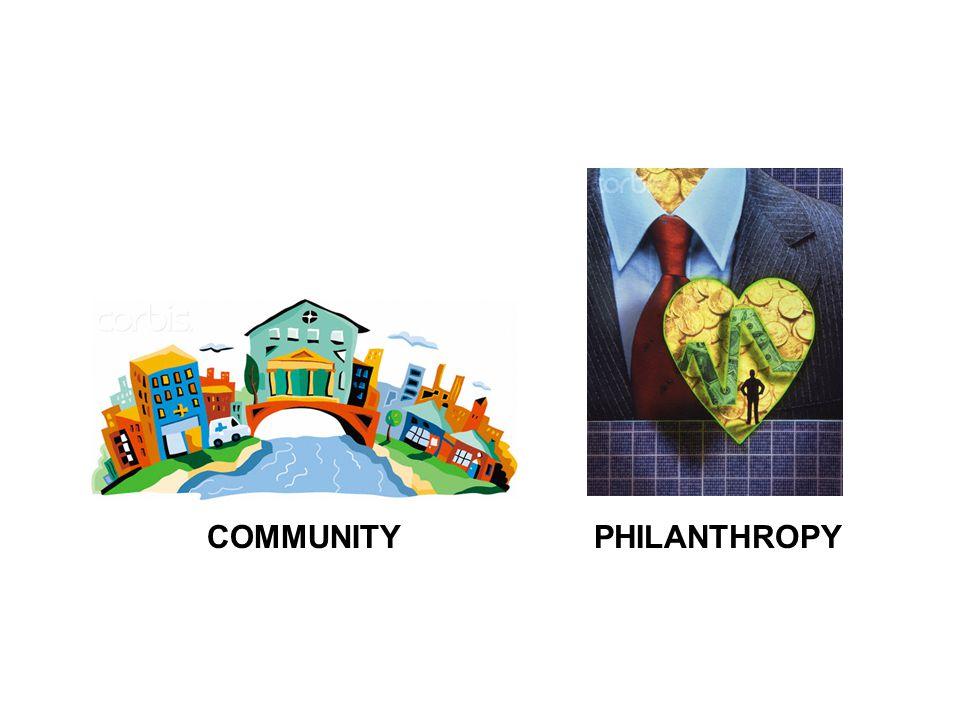 COMMUNITYPHILANTHROPY