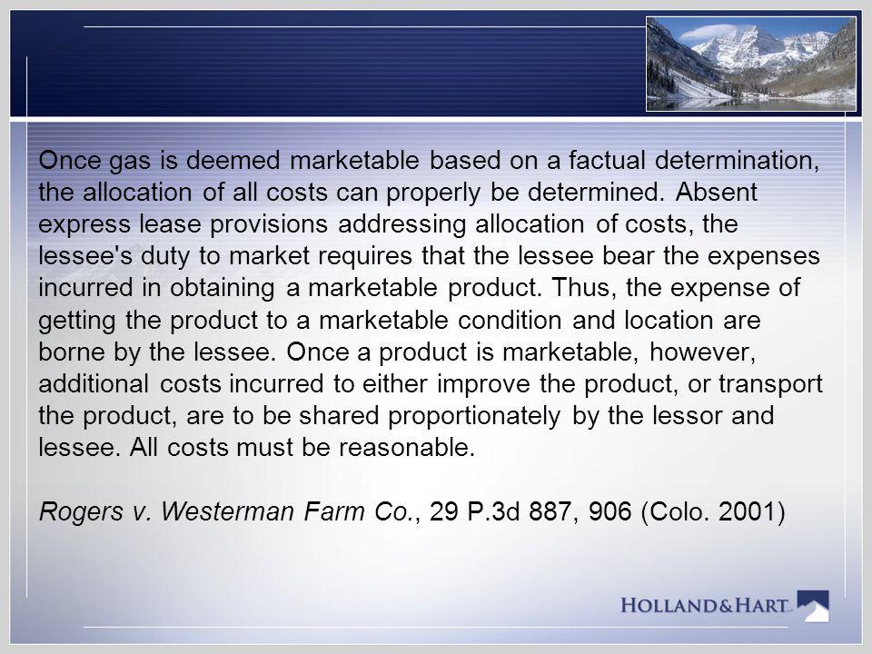 Lindauer v.Williams Prod. RMT Co., No. 10CA0798 (Colo.