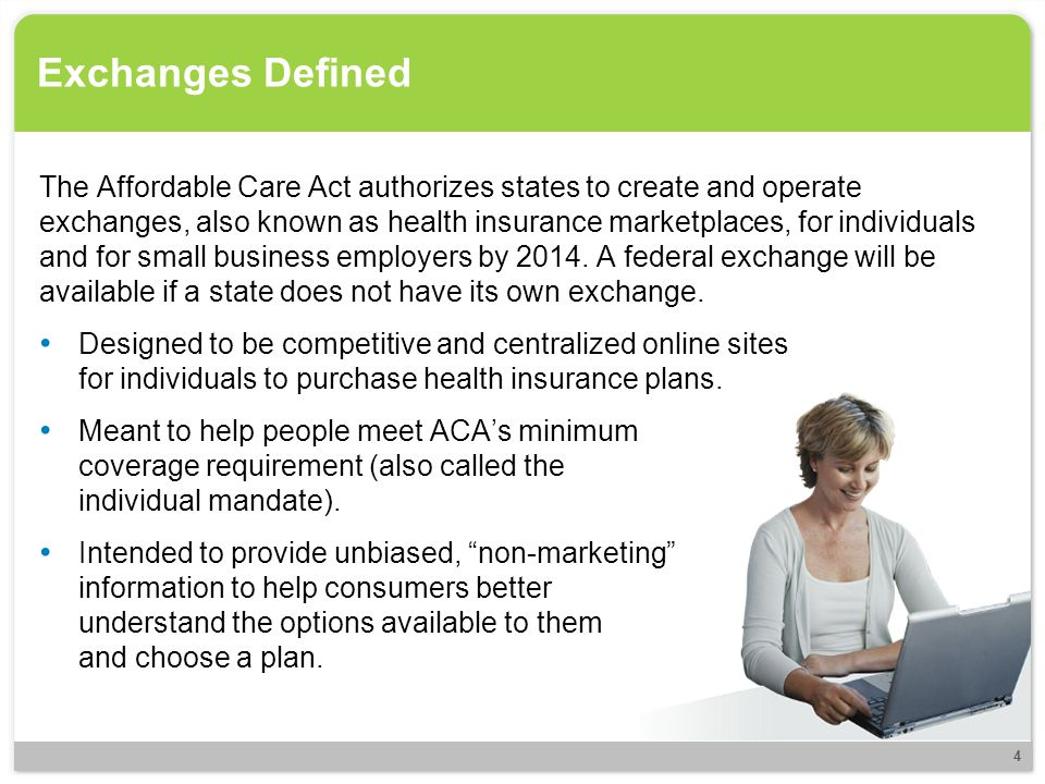 Individual and SHOP Comparison Differences between individual exchanges and SHOP: Individual ExchangeSHOP Benefit Package Plans include those with cost-sharing values of 60/40, 70/30, 80/20 and 90/10 (insurer/insured).