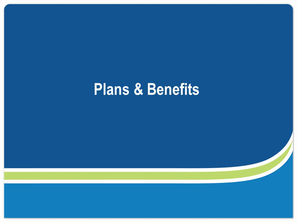 Four Benefit Levels of Coverage The key difference between the metallic plans is the expected percentage of medical expenses shared between the health plan and the member.