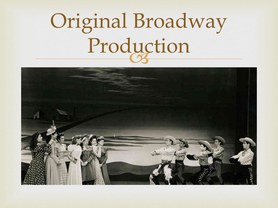  Original Broadway Production