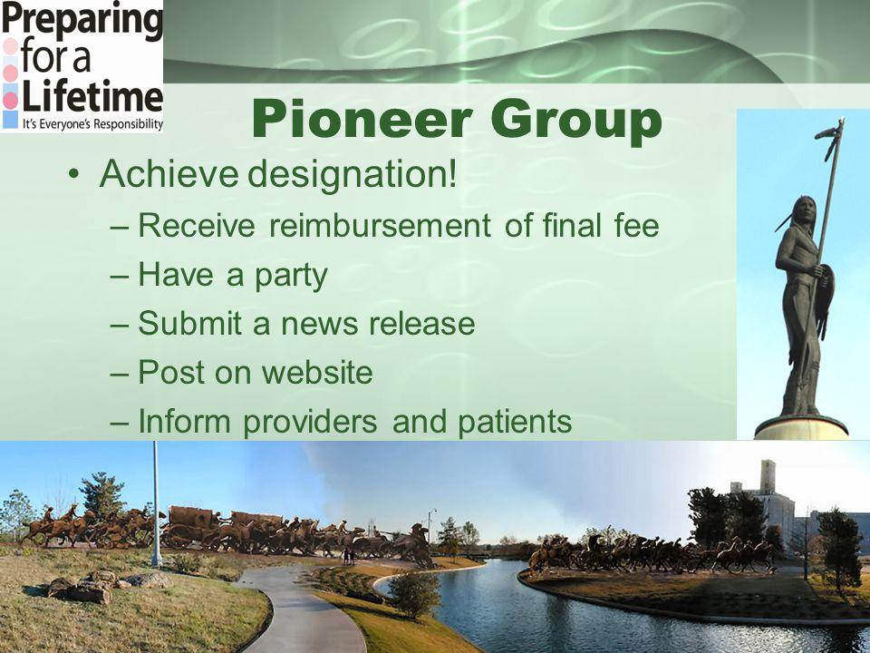 Pioneer Group Achieve designation.