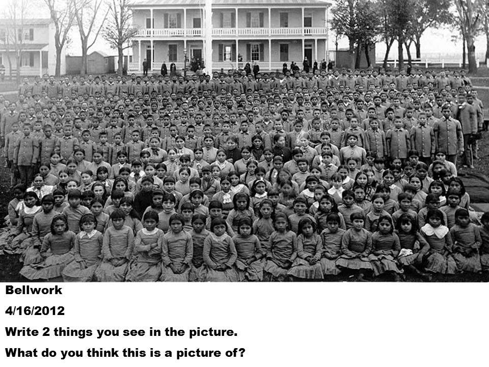 Pupils at Carlisle Indian school, Pennsylvania.