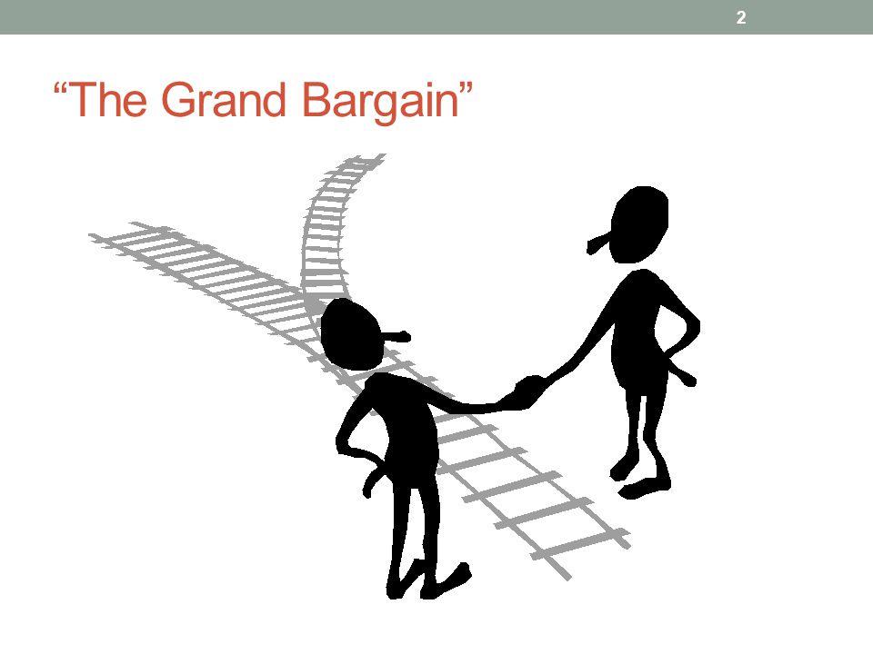 The Grand Bargain 2