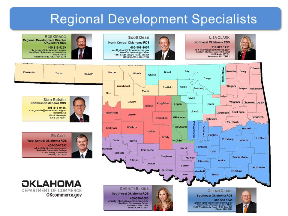 Stan Ralstin Regional Development Specialists