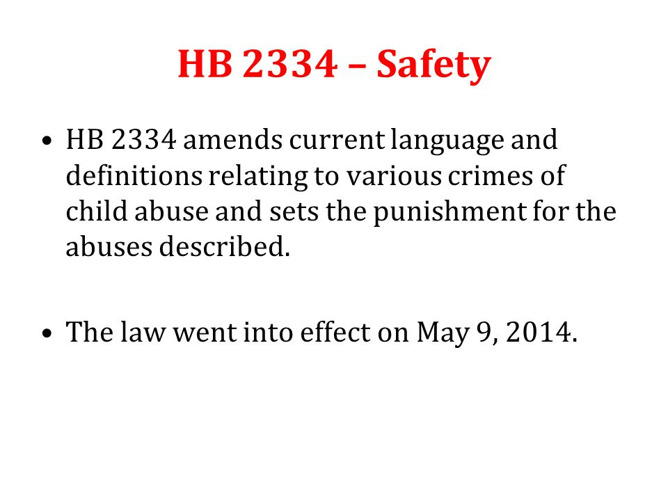 HB 1623 – Suicide Prevention & Training HB 1623 allows (but does not mandate) Boards of education to adopt a policy on suicide prevention and training.