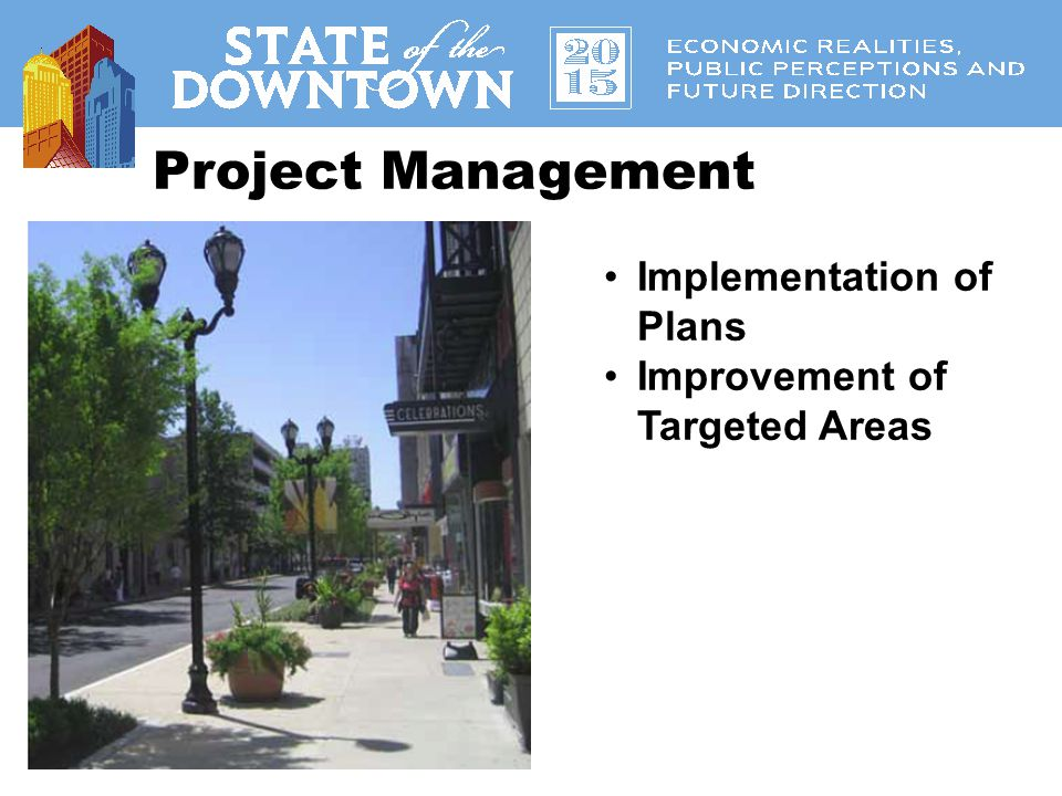 Project Management Implementation of Plans Improvement of Targeted Areas