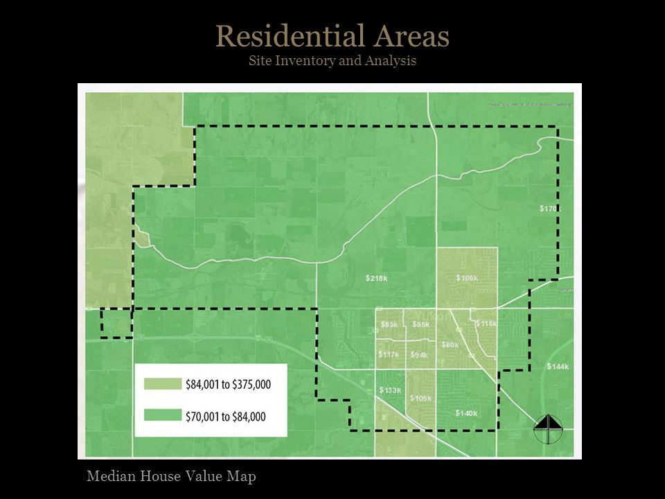 Residential Areas Site Inventory and Analysis