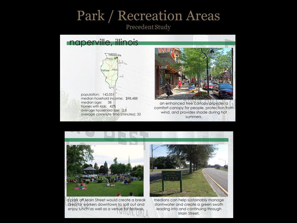 Park / Recreation Areas Character Sketches