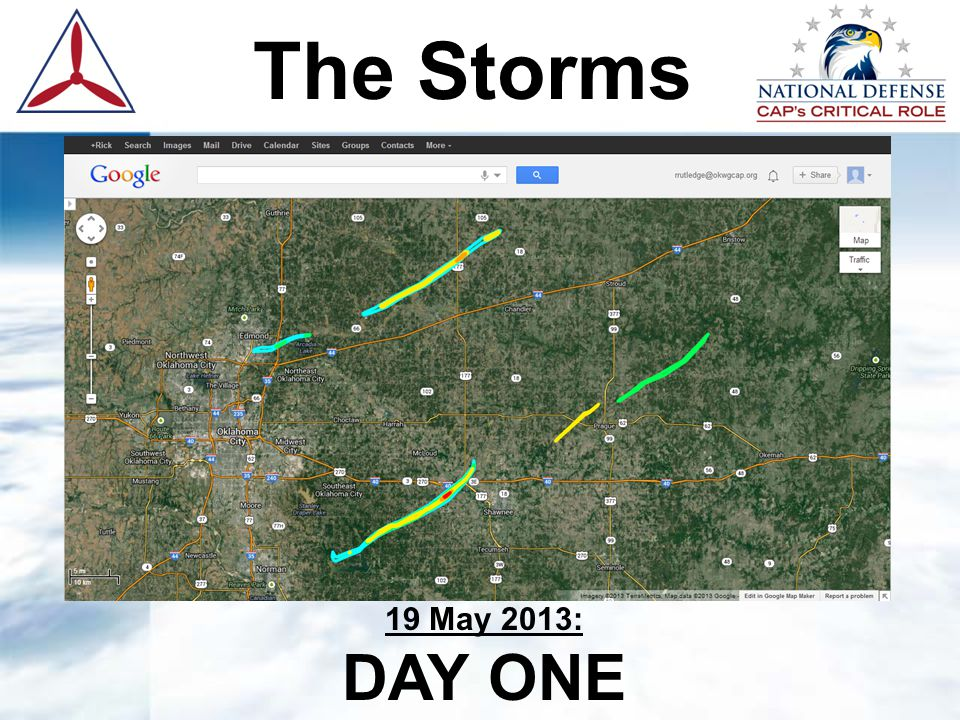 The Storms 20 May 2013: DAY TWO