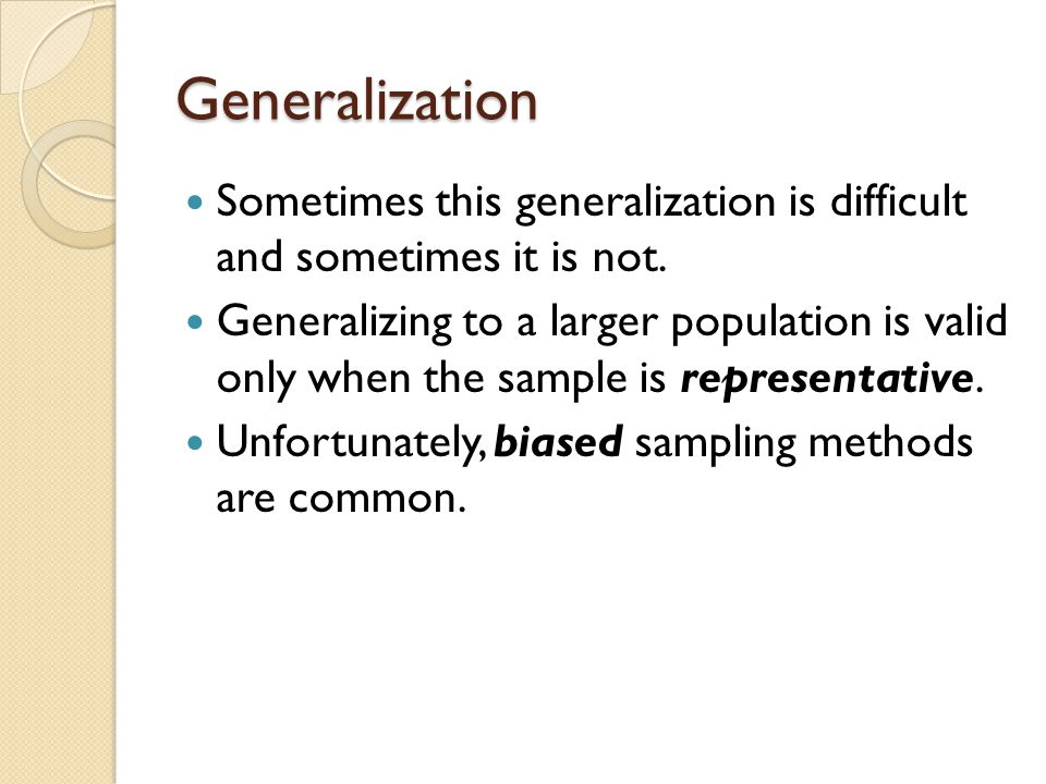 Random Sample To have a random sample, you can't have people self-select themselves into the sample.