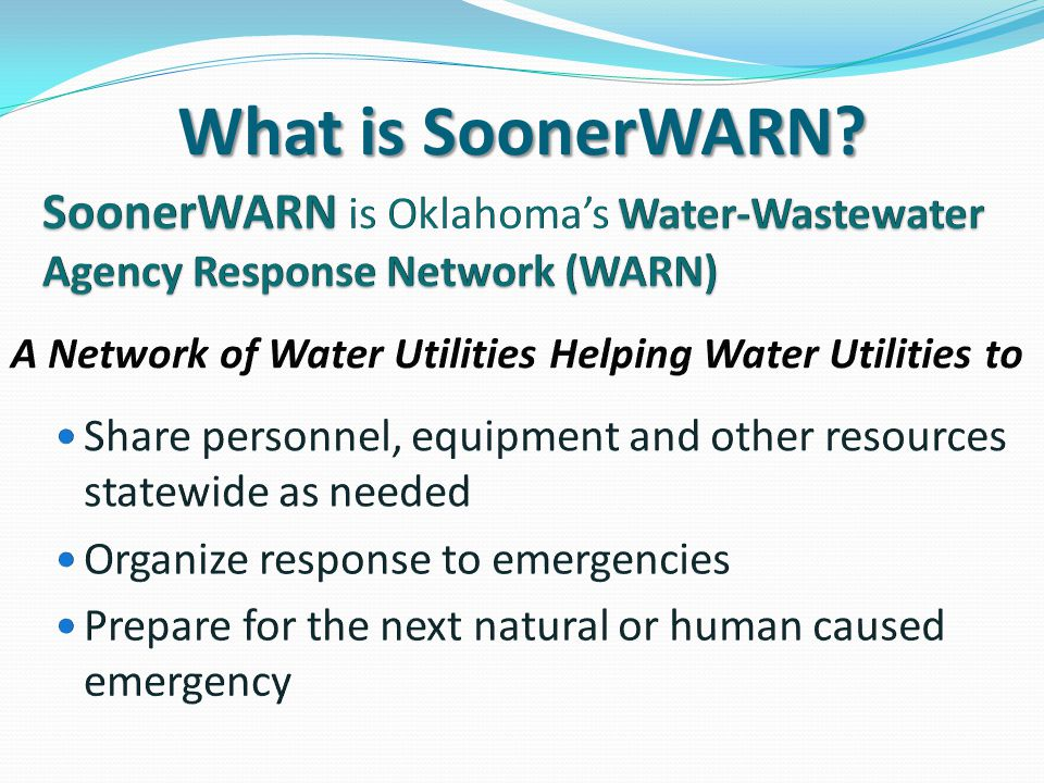What is SoonerWARN?