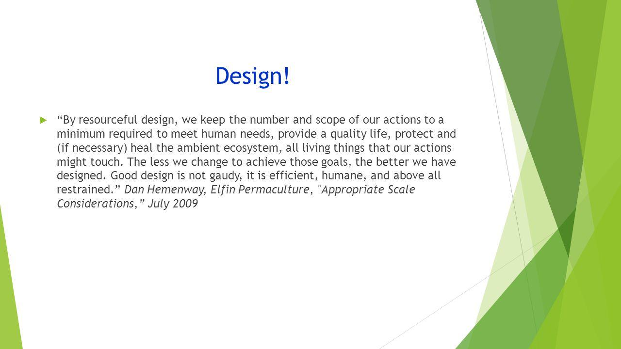 Design.