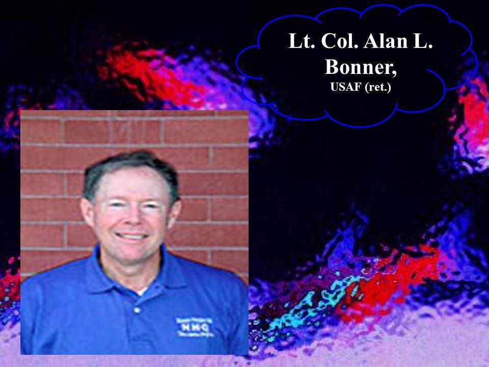 Lt. Col. Alan L. Bonner, USAF (ret.)