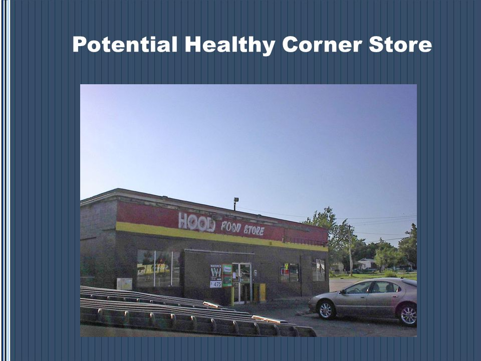 Potential Healthy Corner Store