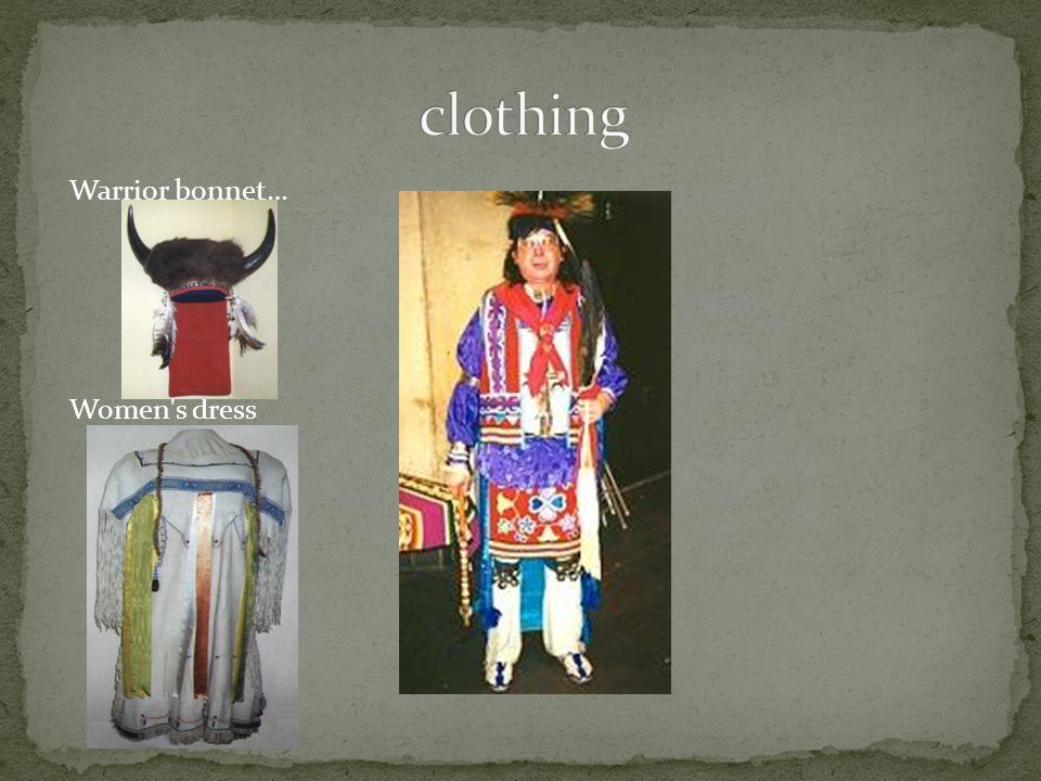 Warrior bonnet… Women s dress