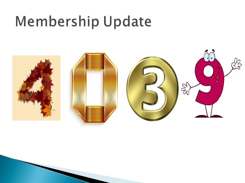 Just over 4,000 members Thank you for your contributions to the industry Employers – THANK YOU for supporting the important work of COPAS