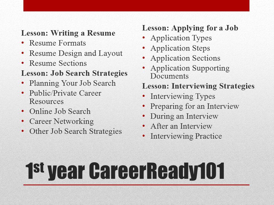 Job Application Pocket resume