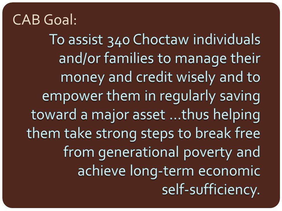CAB Goal: