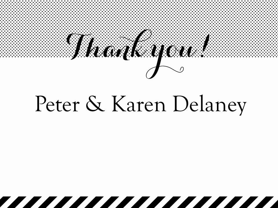Peter & Karen Delaney