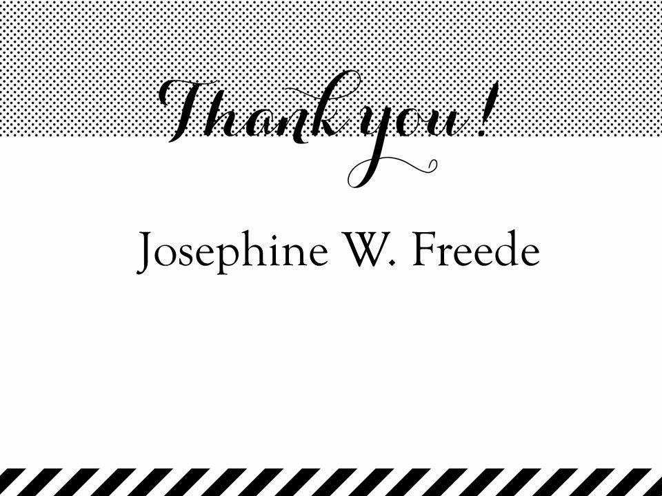 Josephine W. Freede